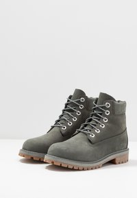 Timberland - 6 IN PREMIUM WP BOOT - Bottines à lacets - dark grey - 3