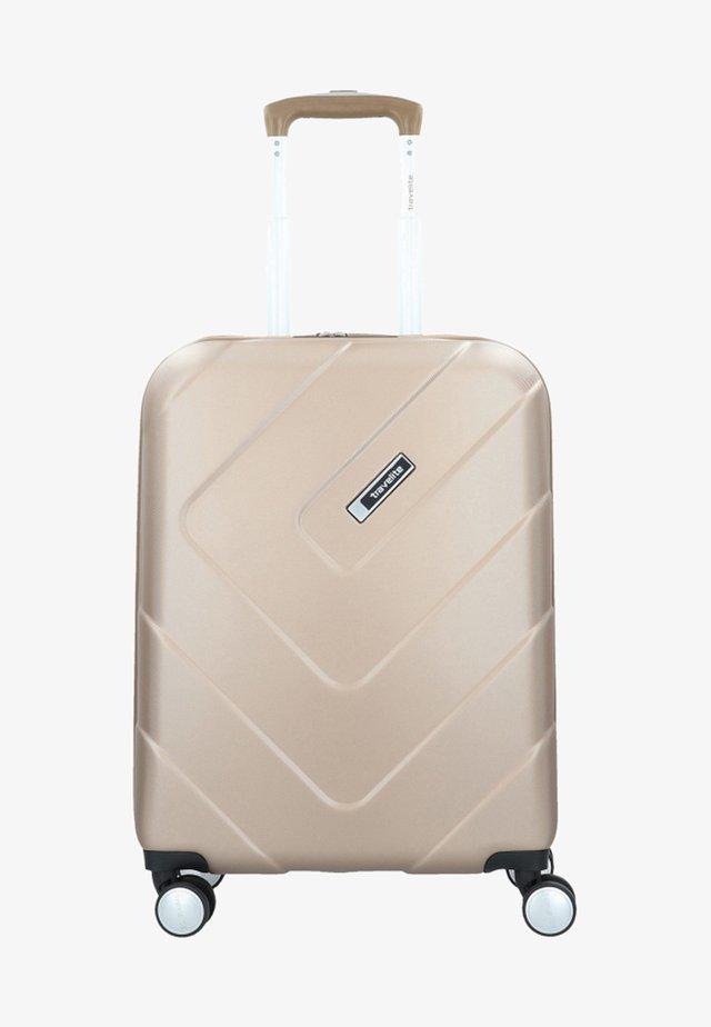 KALISTO - Wheeled suitcase - champagne