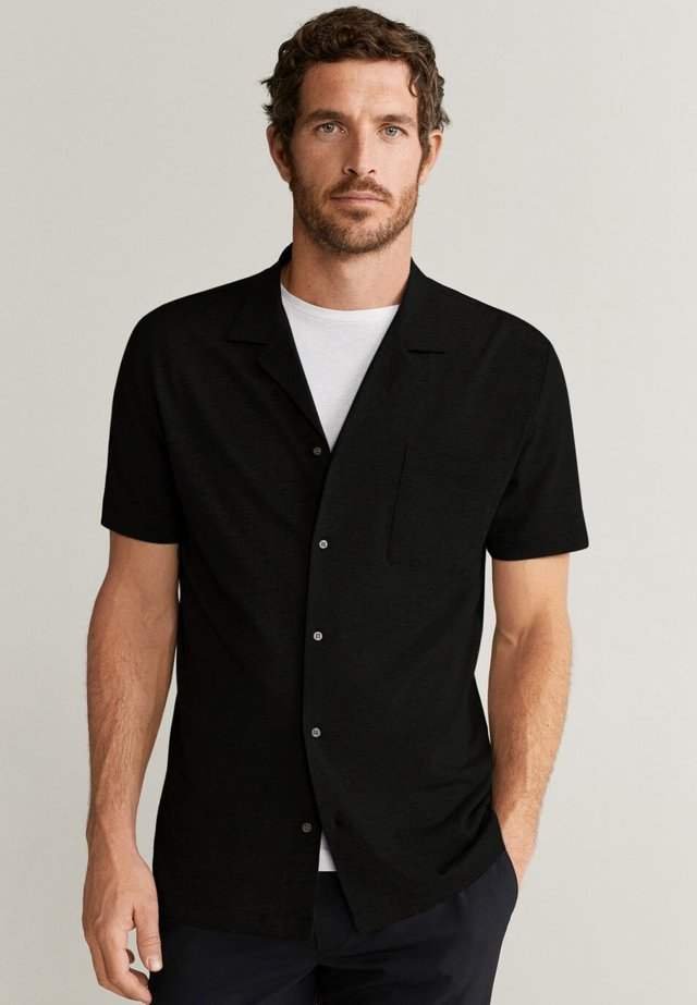 BONHEUR - Shirt - schwarz