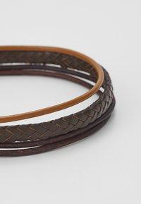 Fossil - MENS DRESS - Bracelet - brown - 4
