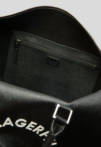 KARL LAGERFELD - RUE ST GUILLAUME - Sac week-end - black - 4