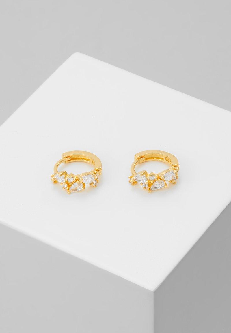 Astrid & Miyu - MYSTIC HUGGIES - Earrings - gold-coloured