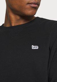 Lee - PLAIN CREW - Sweatshirt - black - 5