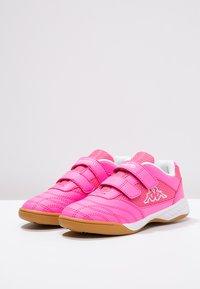 Kappa - KICKOFF  - Sports shoes - pink/white - 2