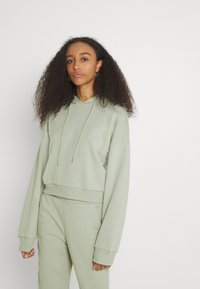 NU-IN - CROPPED HOODIE - Sweatshirt - green - 0