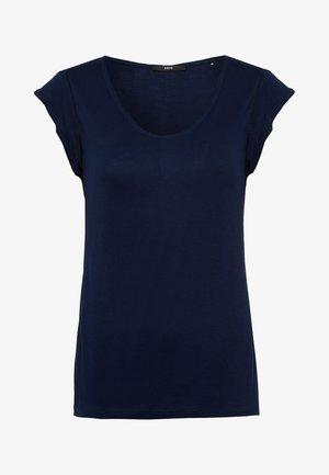 Print T-shirt - desert night blue