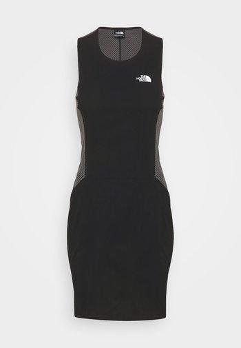 CIRCADIAN DRESS - Jersey dress - black