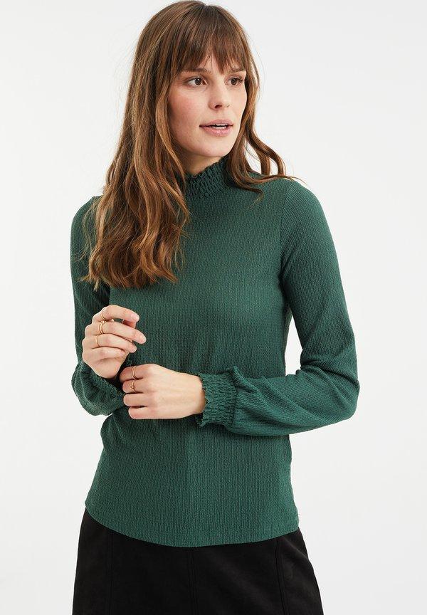 WE Fashion Bluzka - green/zielony TRJB