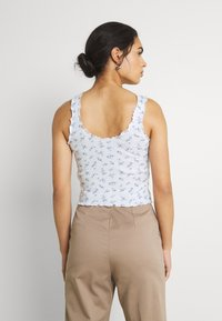 Hollister Co. - CINCH CAMI - Top - white - 2