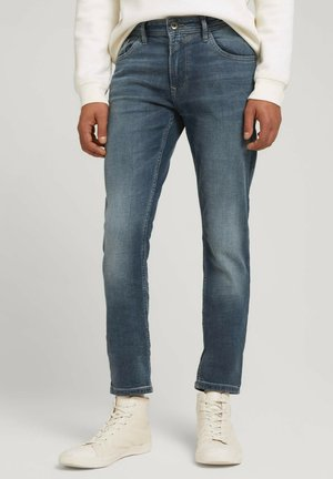 CULVER - Jeans Slim Fit - mid stone blue grey denim