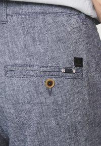 Jack & Jones PREMIUM - JJIACE JJLINEN - Trousers - navy blazer - 5