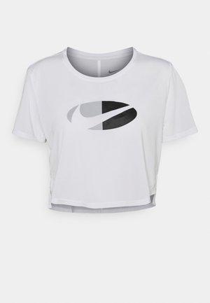 ONE  - Print T-shirt - white/black