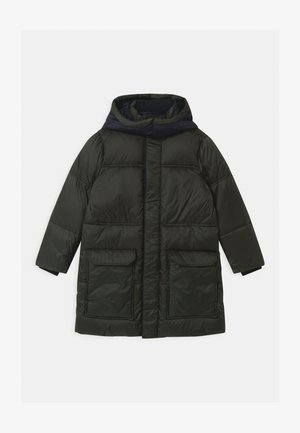 Zimní kabát - verde militare
