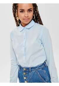 JDY - JDYMIO - Button-down blouse - light blue - 3