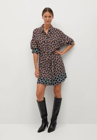Mango - Shirt dress - marron - 1