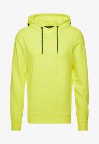 bright neon yellow