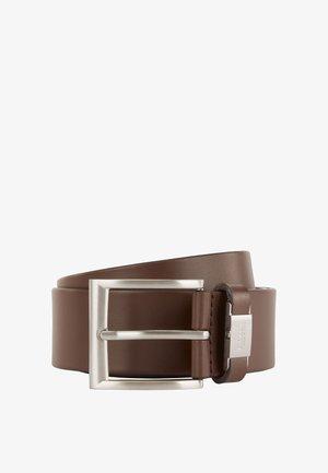 CONNIO - Belt business - dark brown