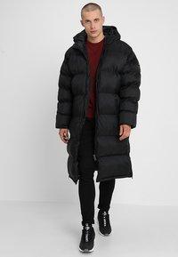 Schott - MAX UNISEX - Płaszcz zimowy - black - 1
