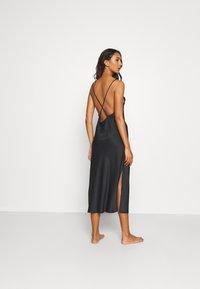 LingaDore - LONG DRESS - Nachthemd - black - 2