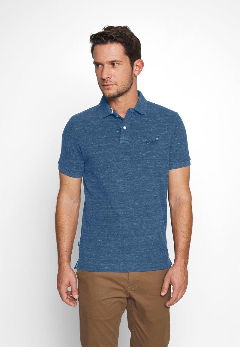 Superdry - Polo shirt - montana blue grit