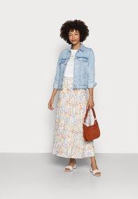 Esprit - SKIRT - Maxi skirt - off white - 1