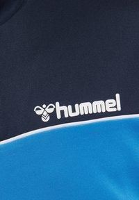 Hummel - LIAM - Fleece jumper - marine/green - 4