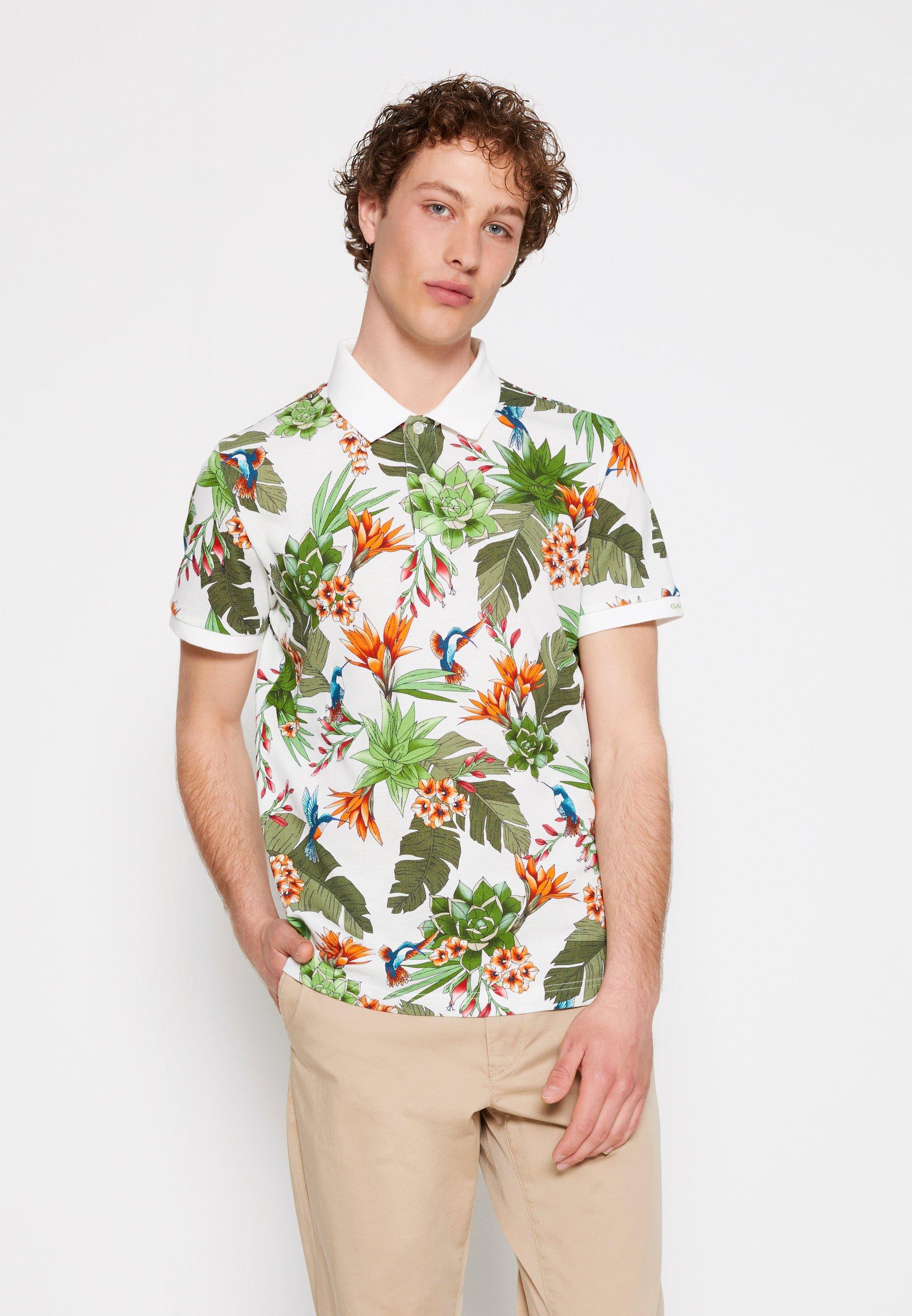 Men HUMMING GARDEN RUGGER - Polo shirt