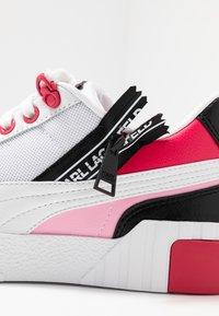 Puma - CALI KARL - Sneakers - white/prism pink - 2