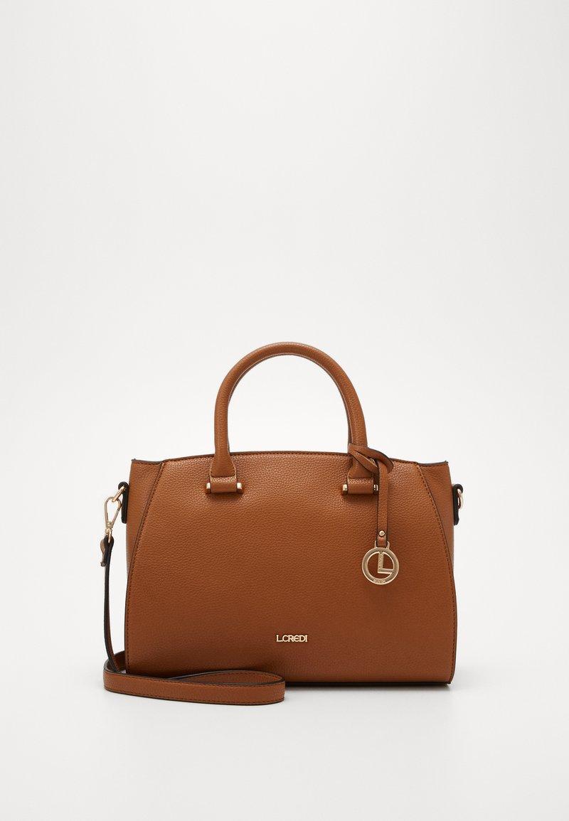 L.CREDI - FELICIA - Handbag - cognac
