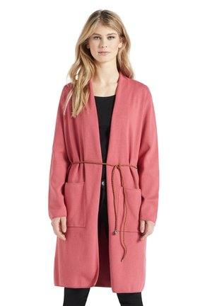 PERKY WITH BELT - Cardigan - rosa