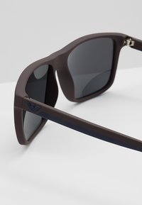Emporio Armani - Sunglasses - top blue/brown rubber