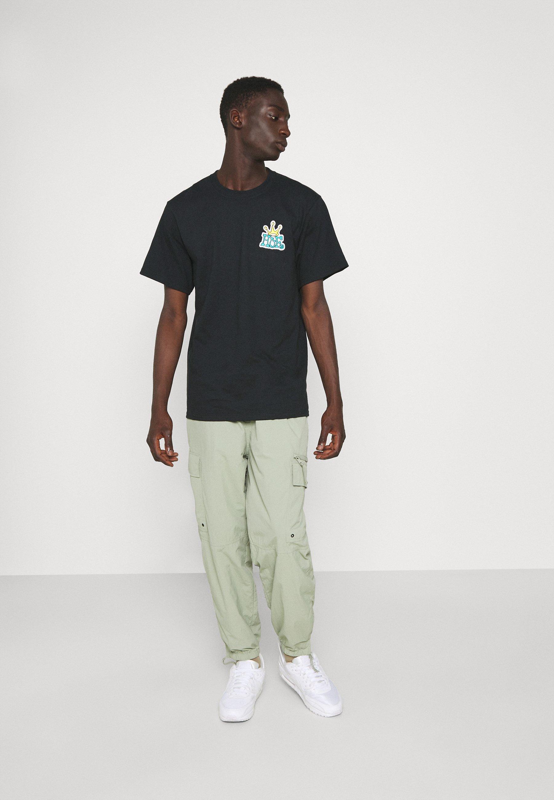 Men CROWN LOGO TEE - Print T-shirt
