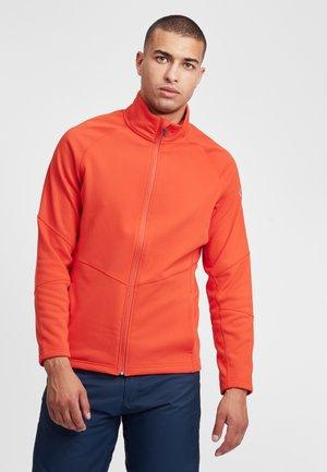 Training jacket - lava orange