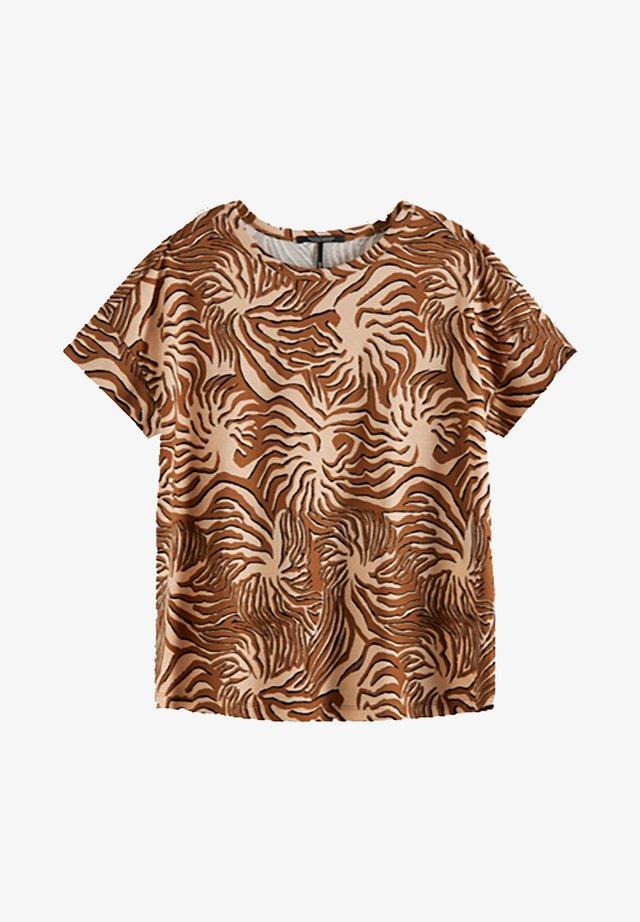 T-shirt imprimé - brown