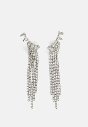 STATEMENT DROP EARRINGS - Earrings - silver-coloured