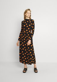 JDY - JDYSVAN DRESS  - Maxi dress - black - 0
