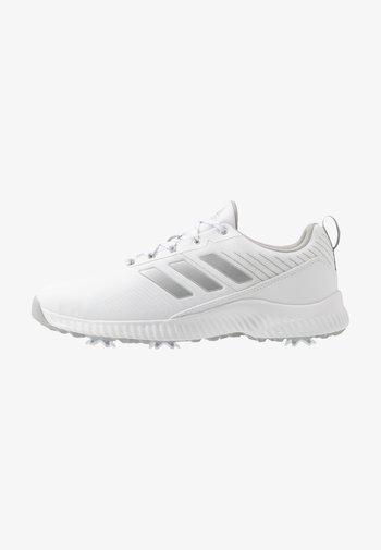 RESPONSE BOUNCE 2 - Golf shoes - footwear white/silver metallic/grey two
