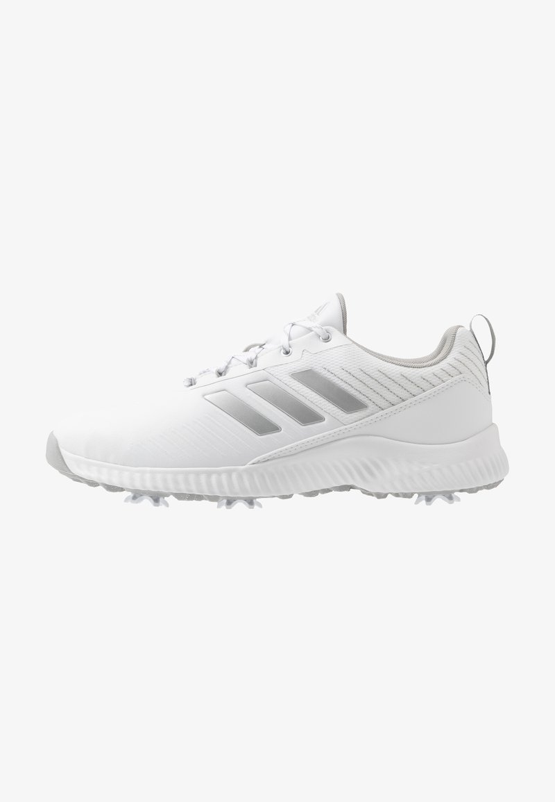 adidas Golf - RESPONSE BOUNCE 2 - Golf shoes - footwear white/silver metallic/grey two