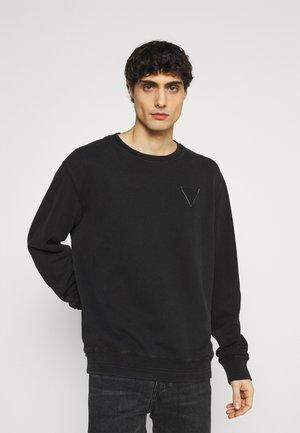 PATCH LOGO - Sweatshirt - jet black