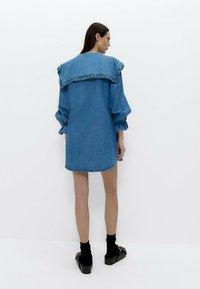 Uterqüe - Denim dress - blue - 2