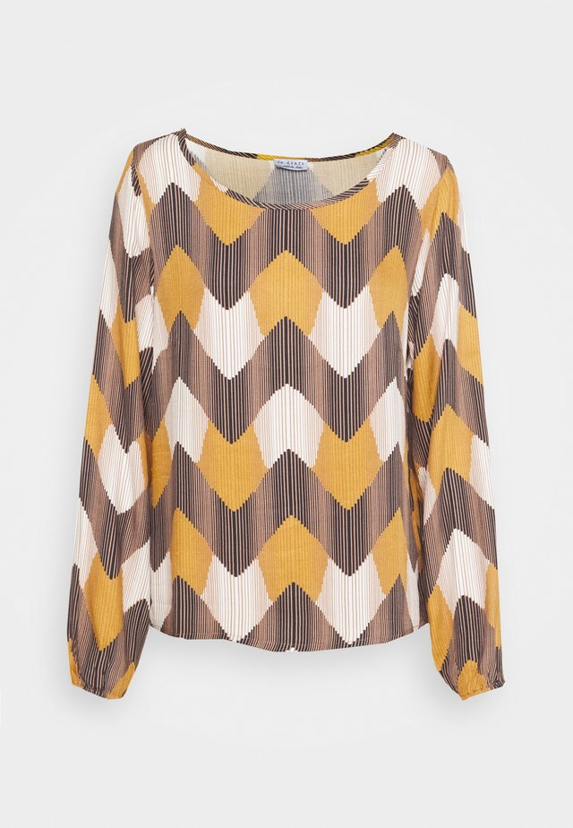 PRINTED BLOUSE - Longsleeve - multi-coloured