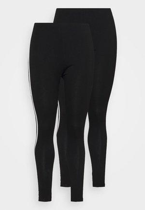 2 PACK - Legging - black/white
