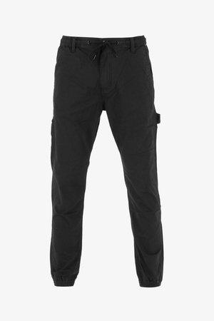 REFLEX WORKER LC - Cargo trousers - black