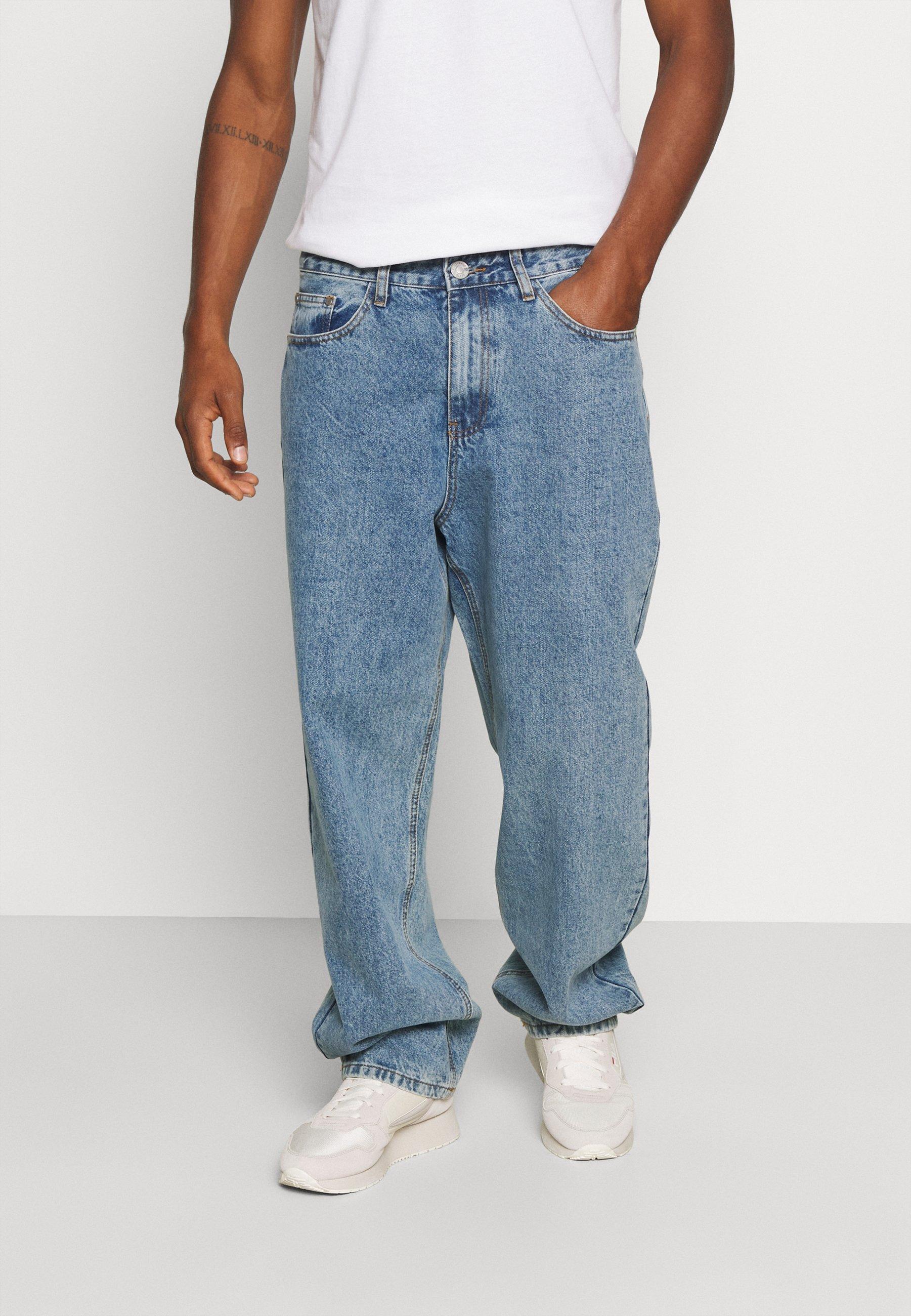 Herrer EVIAN VINTAGE WASH - Jeans Relaxed Fit