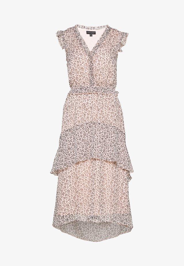DITSY RUFFLE HEM MIDI DRESS - Day dress - blush
