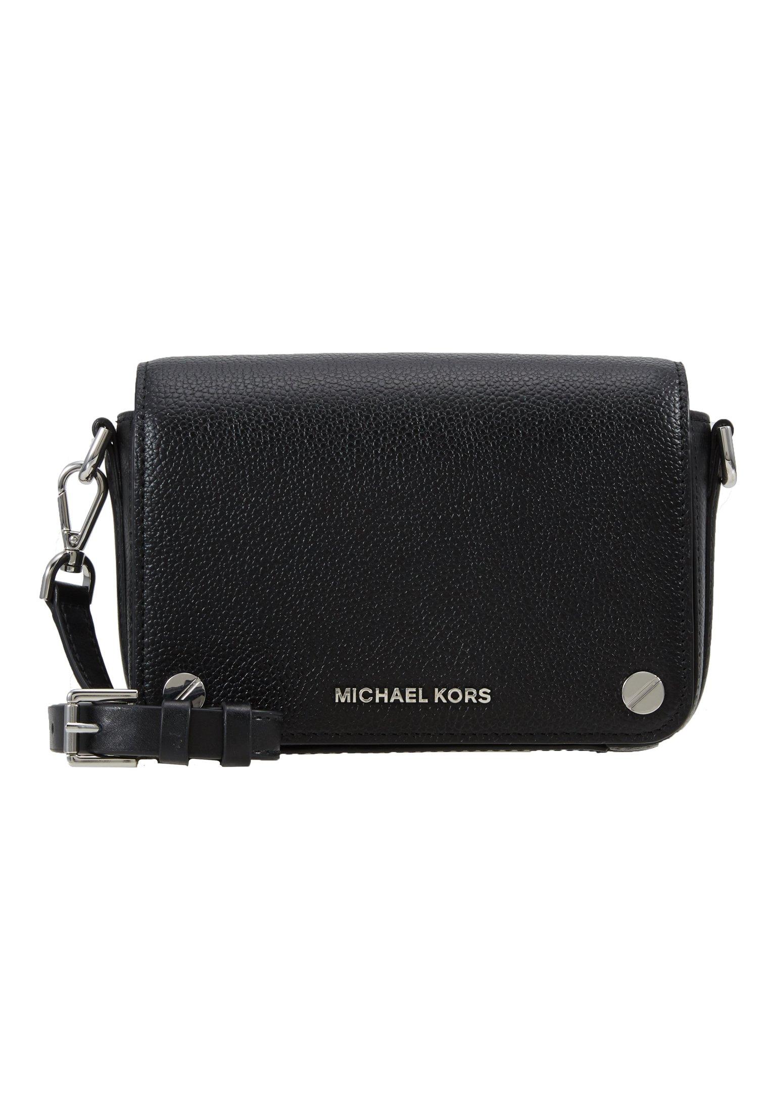 MICHAEL Michael Kors JET SET FULL FLAP XBODY MERCER PEBBLE SHINY - Skulderveske - black/svart D5Bjyqe8PTNZGlt