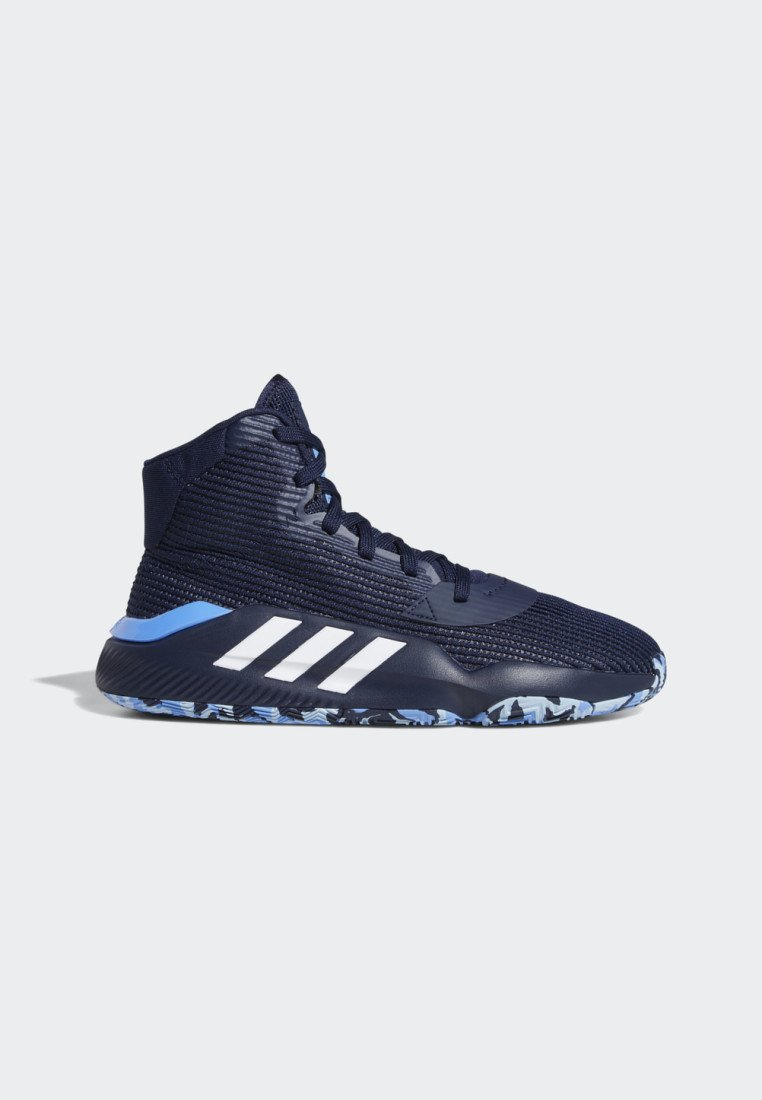 adidas Performance PRO BOUNCE 2019 SHOES - Basketballschuh - blue/blau - Herrenschuhe pTM5T