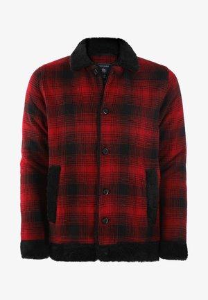 Korte jassen - red-black
