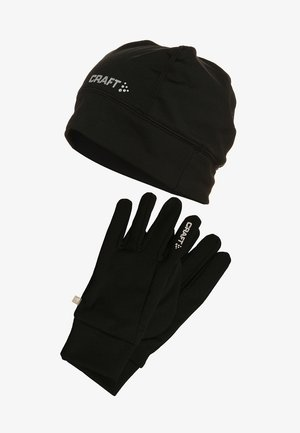 RUNNING SET - Fingervantar - black