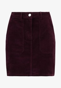 Dorothy Perkins - PATCH POCKET SKIRT - Mini skirt - mauve - 3